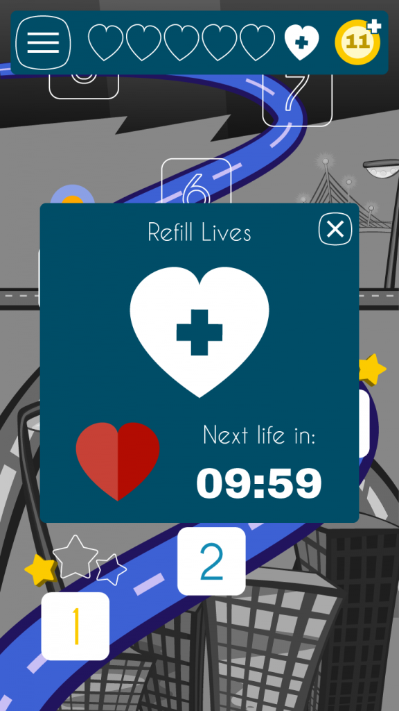 refill-lives-popup-screen